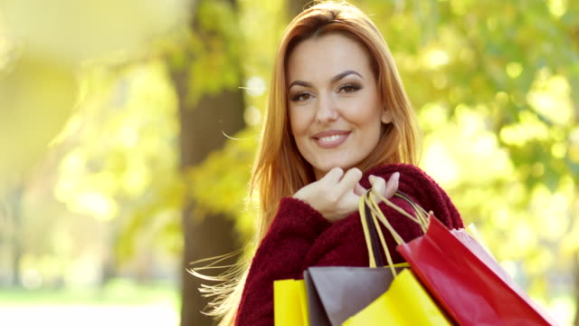 Shopping Woman With credit Cards