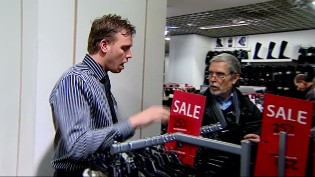 shops efforts to get consumers to spend england london debenhams int sales assistant offering assistance to shopper in debenhams department store sot... - discount shop stock videos & royalty-free footage