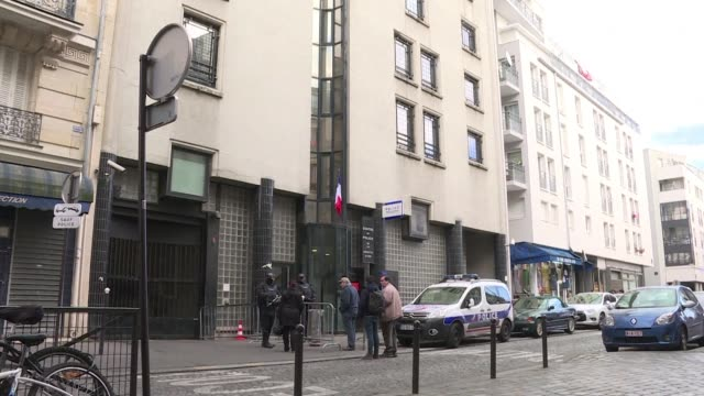 shops reopened and pedestrians returned to paris' goutte d'or neighbourhood on friday a day after an attack on a police station left one dead - dor stock videos & royalty-free footage