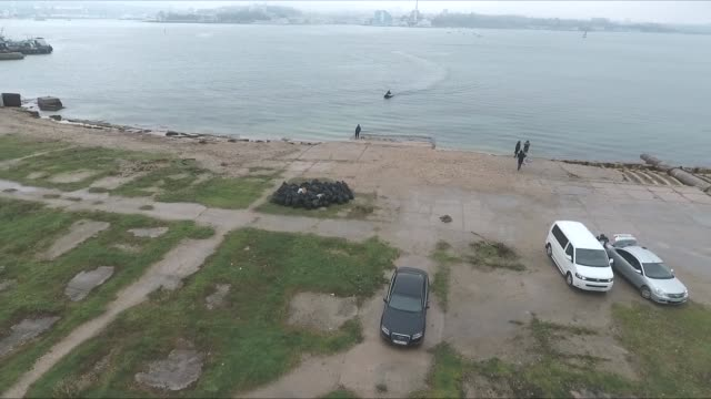 shore and boats in crimea - sevastopol crimea stock videos and b-roll footage