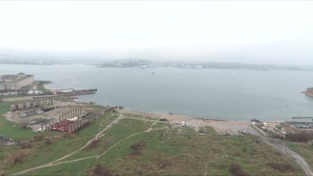 shore in crimea - sevastopol crimea stock videos and b-roll footage