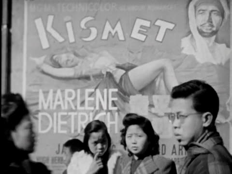 a short documentary on life and conditions in late 1940's shanghai - chinese language stock videos & royalty-free footage
