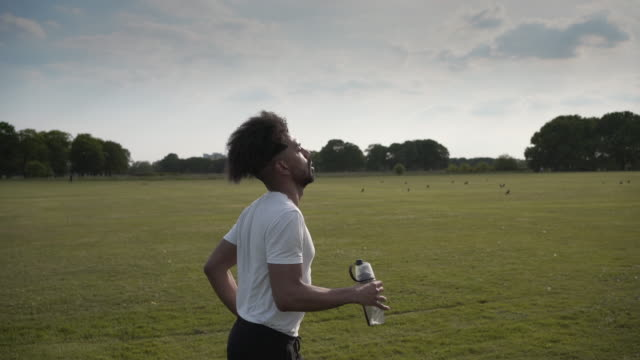a short edited sequence of a man running - activity stock videos & royalty-free footage