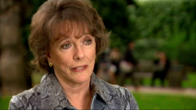 Short elderly care visits criticised by disability charity EXT Esther Rantzen interview SOT Not really a visit it's treating someone like a product...