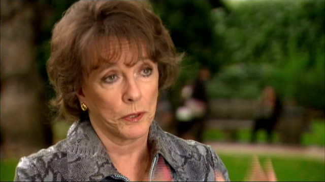 Short elderly care visits criticised by disability charity London EXT Esther Rantzen interview SOT Not really a visit it's treating someone like a...