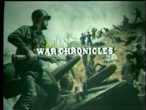 "a short film about world war ii features the title ""war chronicles"". - world title stock videos & royalty-free footage"