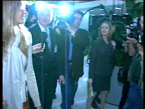 shortly after the birth of her son Flynn inn 1998 She talks briefly about Flynn and about being a mother Elle MacPherson arrives at Sydney Airport on...