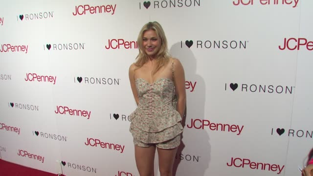 shoshana bush at the charlotte ronson and jcpenney spring cocktail jam at hollywood ca - shoshana bush stock-videos und b-roll-filmmaterial