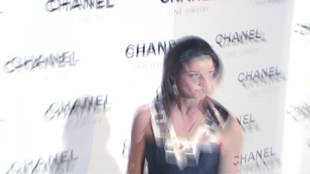 vídeos de stock, filmes e b-roll de shoshanna gruss at the chanel fine jewelry's 'night of diamonds' at the plaza hotel in new york, new york on january 16, 2008. - shoshanna
