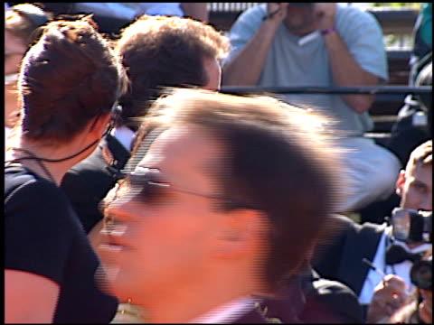vídeos de stock, filmes e b-roll de shoshanna lonstein at the 1996 emmy arrivals at the pasadena civic auditorium in pasadena, california on september 8, 1996. - shoshanna