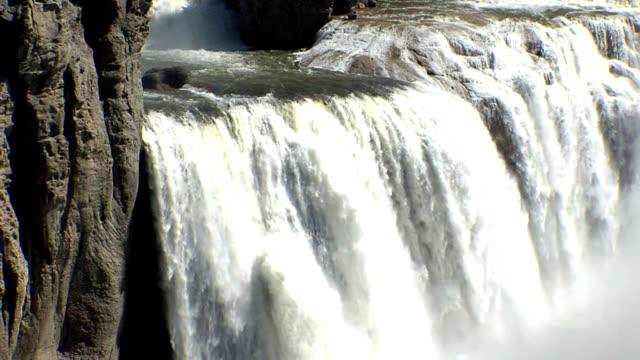 shoshone falls idaho - medium shot_003 - idaho stock videos & royalty-free footage