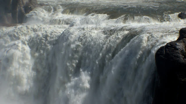shoshone falls idaho - medium shot_004 - river snake stock videos & royalty-free footage