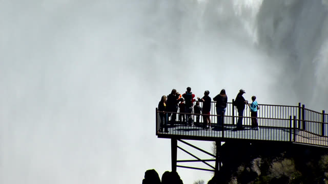 shoshone falls idaho - tourists - river snake stock videos & royalty-free footage