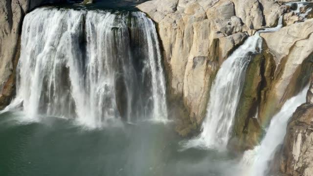 ショショーネの滝 (アイダホ州) - スネーク川点の映像素材/bロール
