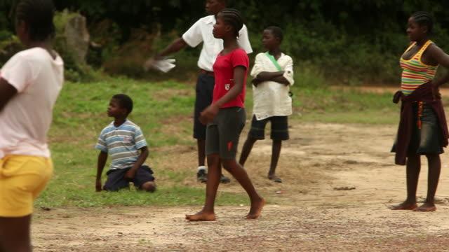 Shot in Liberia