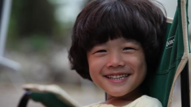 Shot of a boy smiling