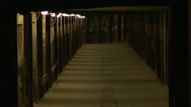 a shot of a passage or tunnel - underpass stock videos and b-roll footage