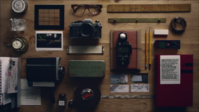 Shot of Arranging Work Tool of film making
