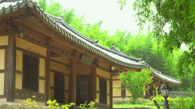 shot of bamboo experience center at juknokwon(bamboo garden) - damyang stock videos & royalty-free footage
