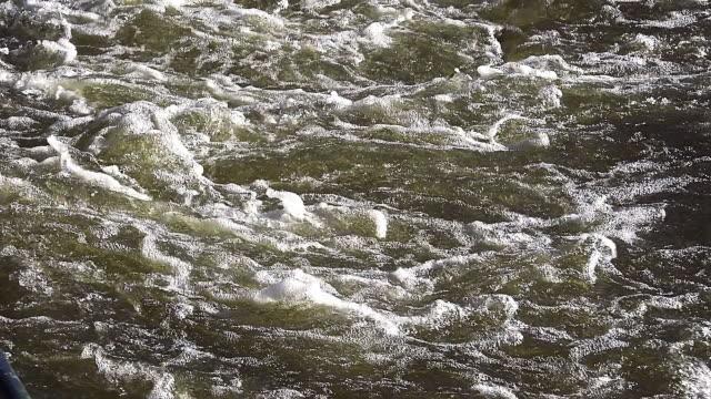 ms slo mo shot of barrage on sarre river in east of france / sarrebourg, lorraine, france - lorraine bildbanksvideor och videomaterial från bakom kulisserna