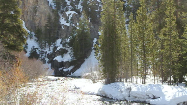 ms shot of boulder mountains with big wood river/ ketchum, idaho, united states - idaho stock videos & royalty-free footage