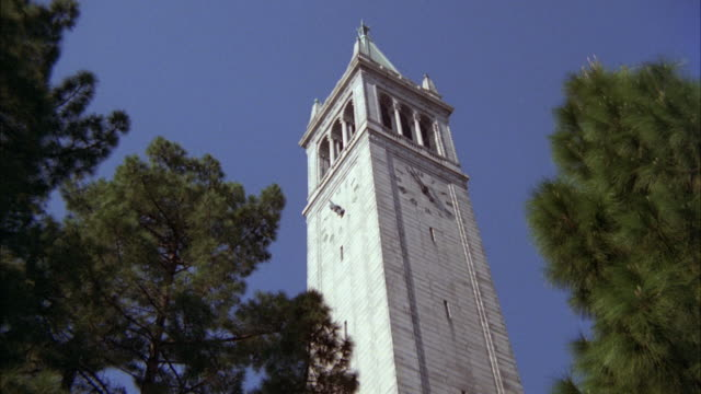 WS Shot of Campanile library
