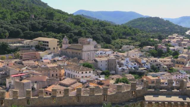 WS Shot of Capdepera village / Mallorca, Spain