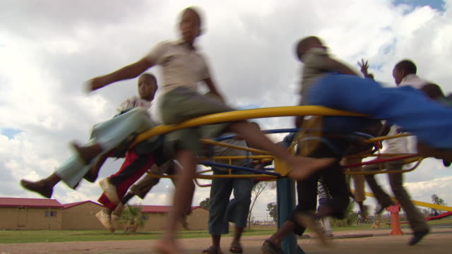 shot of children playing / durban south africa - durban stock videos & royalty-free footage