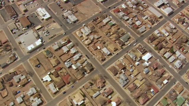 MS AERIAL Shot of city / Arizona, United States