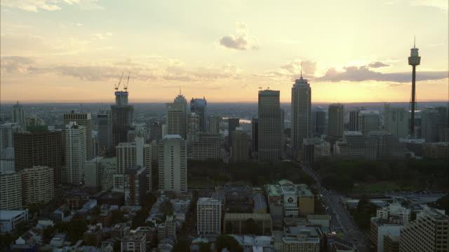 WS Shot of city skyline / Sydney, Unspecified, Australia