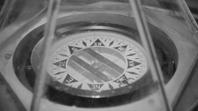 cu shot of compass or sextant - sextant stock videos & royalty-free footage