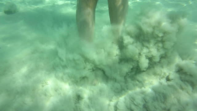 cu shot of girl diving and having fun at sea / mallorca, spain - one teenage girl only stock videos & royalty-free footage