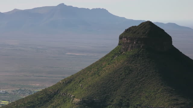 ms shot of green valley / the karoo, south africa - the karoo stock videos & royalty-free footage