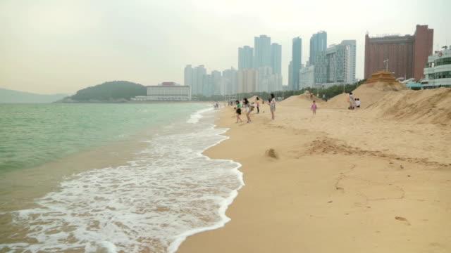 Shot of Haeundae beach