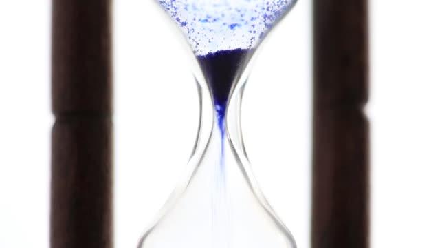 cu shot of hourglass / shibuya, tokyo, japan - hourglass stock videos & royalty-free footage