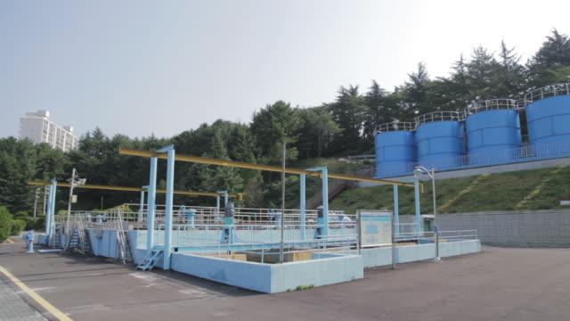 Shot of Hwamyeong Water Purification Plant at Busan