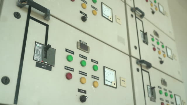 shot of industrial power system in warehouse - motor stock videos & royalty-free footage