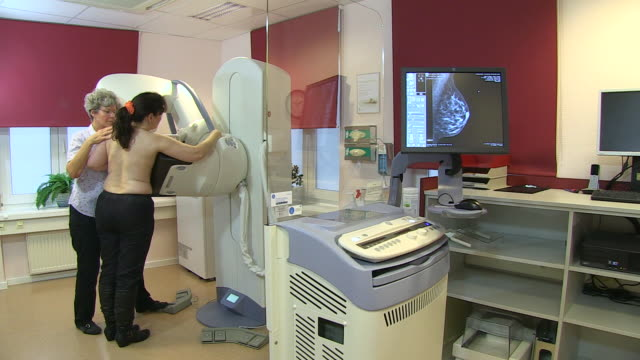MS Shot of mammographic screening for breast cancer prevention / Wiesbaden, Hesse, Germany