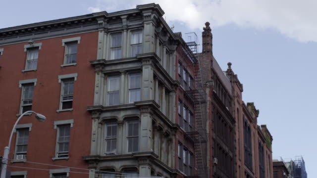 LA shot of NYC brownstones