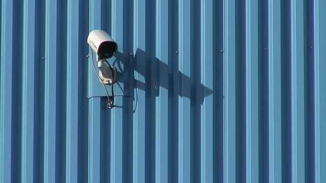 MS Shot of observation camera / Saarlouis, Saarland, Germany