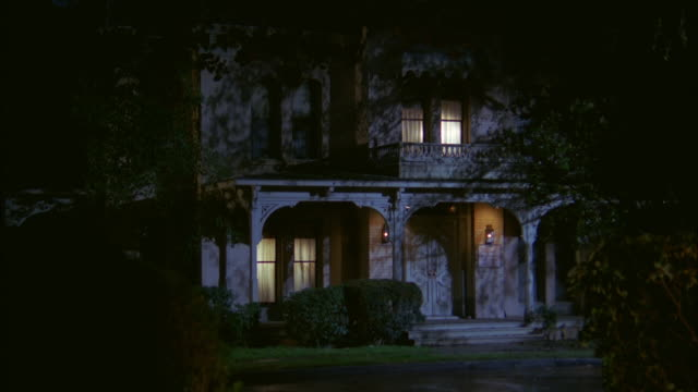 ms shot of old french victorian luxury house - 19th century style stock videos and b-roll footage