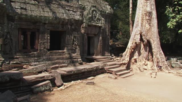 CU PAN Shot of Oldest temple / Angkor, Cambodia