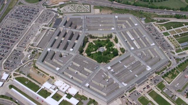 """HA WS ZI AERIAL Shot of   Pentagon / Washington DC, United States"""