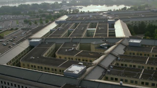 """ws aerial shot of   pentagon / washington dc, united states "" - the pentagon stock videos & royalty-free footage"