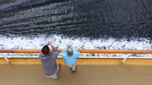 ms ha shot of people looking at nature in ferry ship at skerry coast in oslofjord / oslo, norway - ferry stock videos & royalty-free footage