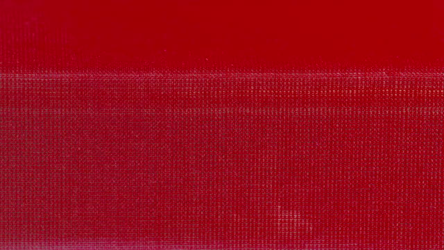 cu shot of red fabric coming out of power loom / red lion, pennsylvania, united states  - loom stock videos & royalty-free footage