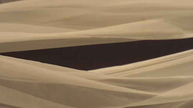 Shot of Silk Fabric