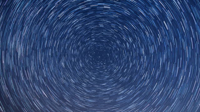 shot of startrail - circle stock videos & royalty-free footage