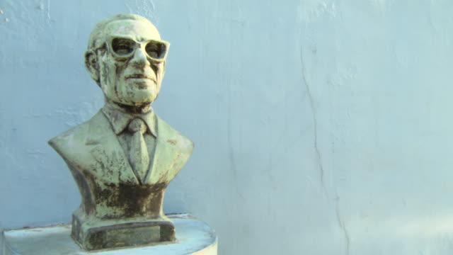 CU Shot of statue / Buenos Aires, Argentina