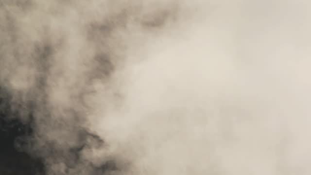 CU Shot of Steam coming from vent El Tatio geysers / San Pedro de Atacama, Norte Grande, Chile